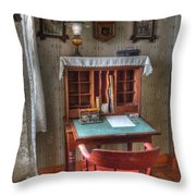 Point Loma Lighthouse Writing Desk Throw Pillow