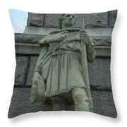 Point Pleasant Wv Battlefield Throw Pillow