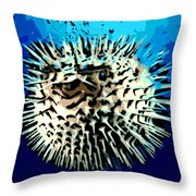 Pointed Opinion Throw Pillow