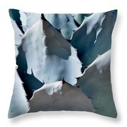 Pointed Pads Throw Pillow