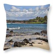 Poipu Shores Throw Pillow