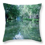 Poitevin Marsh Throw Pillow