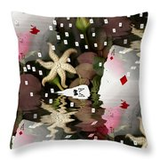 Poker Pop Art All In Throw Pillow by Pepita Selles
