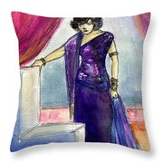 Pola Negri Throw Pillow