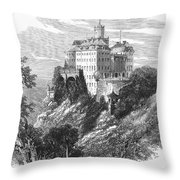 Poland: Castle Throw Pillow