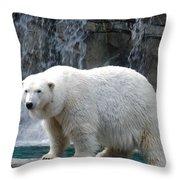 Polar Bear 2 Throw Pillow