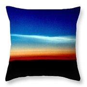 Polar Stratospheric Clouds Throw Pillow