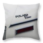 Polara Custom Emblem Throw Pillow