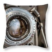 Polaroid Pathfinder Throw Pillow
