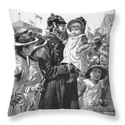 Policeman, 1885 Throw Pillow