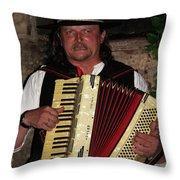 Polish Highlander Throw Pillow