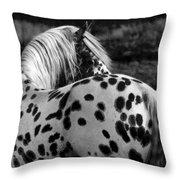 Polka Dotty Throw Pillow