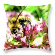 Pollenmeister Throw Pillow