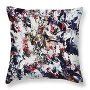 Pollock Throw Pillow