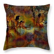 Polluted Circus Throw Pillow