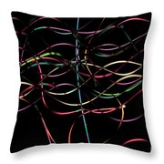 Polyester Fibers Throw Pillow