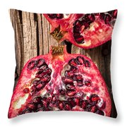 Pomegranate Throw Pillow by Garry Gay