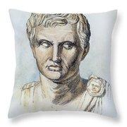 Pompey (106-48 B.c.) Throw Pillow