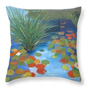 Pond Revisited Throw Pillow