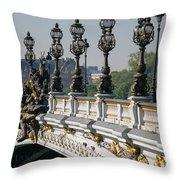 Pont Alexander IIi Throw Pillow