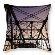 Pont Champlain - Montreal Throw Pillow