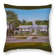 Pontchartrain Yacht Club Throw Pillow