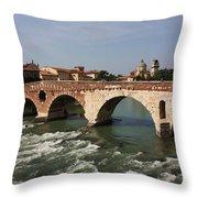 Ponte Pietra Throw Pillow
