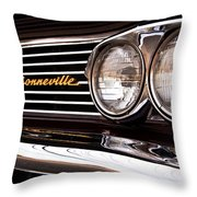 Pontiac Bonneville Throw Pillow