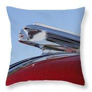 Pontiac Chief Throw Pillow