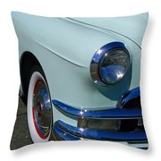 Pontiac Eight Throw Pillow