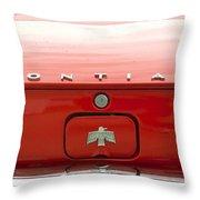 Pontiac Firebird Emblem Throw Pillow