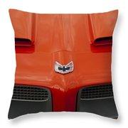 Pontiac Firebird Grille Throw Pillow