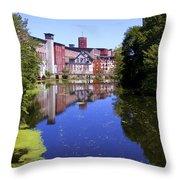 Pontiac Mills - Vertical Throw Pillow