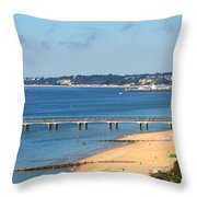 Poole Bay Throw Pillow