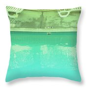 Poolside Seating Throw Pillow