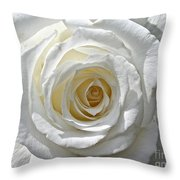 Pope John II Rose Throw Pillow