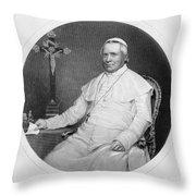 Pope Pius Ix (1792-1878) Throw Pillow