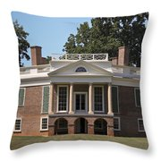 Poplar Forest Squared Throw Pillow