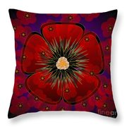 Poppies 2012 Throw Pillow