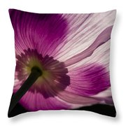 Poppy Detail 1 Throw Pillow