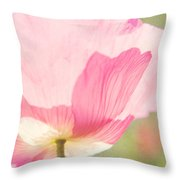 Poppy Throw Pillow by Kim Fearheiley