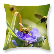 Popular Spot Cropped Throw Pillow
