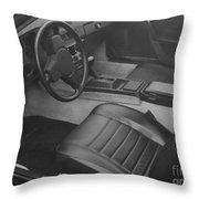 Porsche Interior Throw Pillow