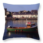 Portaferry, Strangford Lough, Ards Throw Pillow