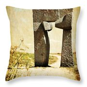 Portal - La Coruna Throw Pillow