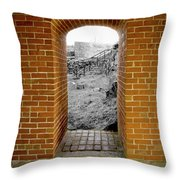 Portal To The Past Throw Pillow
