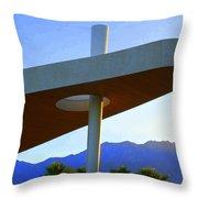 Porte Cochere 3 Throw Pillow