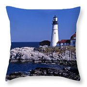 Portland Head Inshore Throw Pillow