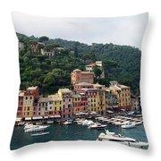 Portofino Dreaming Throw Pillow