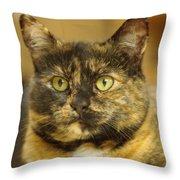 Portrait Of Ginny Throw Pillow